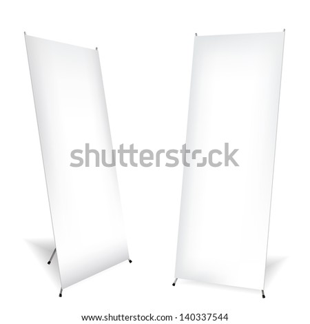 Roll up on white background - stock vector