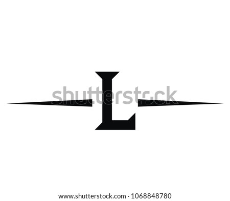 Roman Numerical Number 50 Type Fifty Stock Vector 1068848780