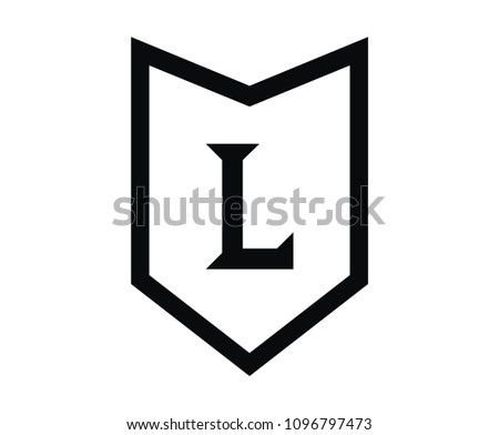 Roman Numerical Number 50 Type Fifty Stock Vector 1096797473