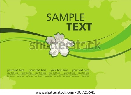 Romantic background - stock vector