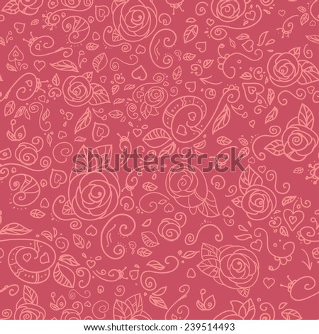 Romantic background with lace ornament. Template frame design for card. Can be used for packaging, invitations, Valentine's Day decoration, marriage, invitations cards, textiles