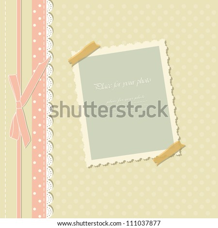 romantic scrapbooking for invitation greeting happy birthday label postcard frame baby texture