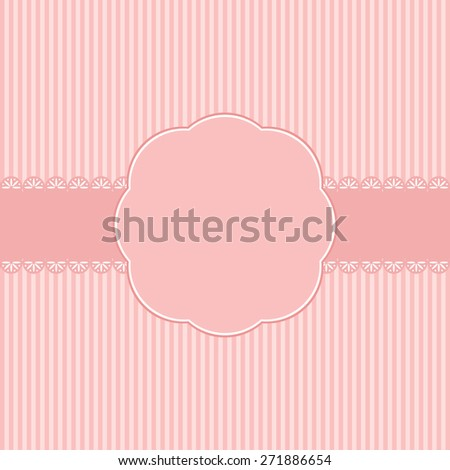 Romantic template greeting card.