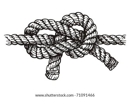 Rope Logo Vector Rope Vector