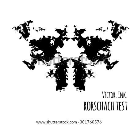 What's behind the Rorschach inkblot test?