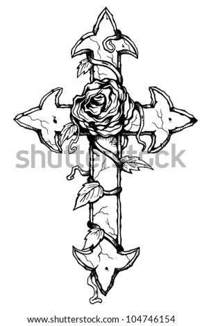Gothic Cross Stock Images Royalty Free Images Amp Vectors