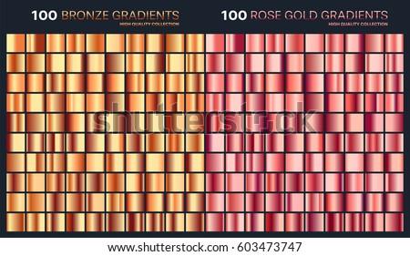 Metallic Rose Gold Gradient Mount Mercy University