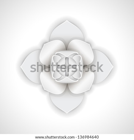 Rosebud is shown in the image. - stock vector