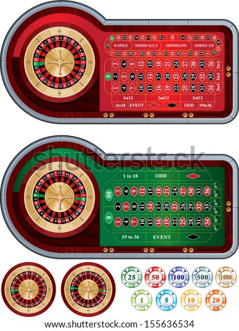 Roulette - stock vector