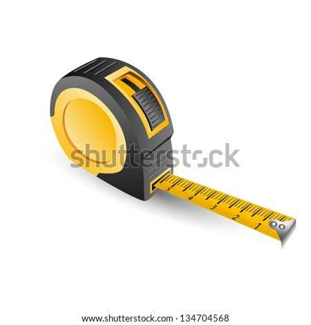 roulette construction - stock vector
