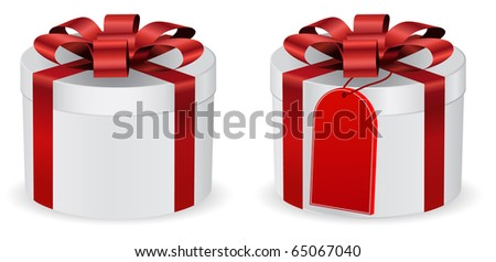 round gift tag stock vector 65067040 shutterstock