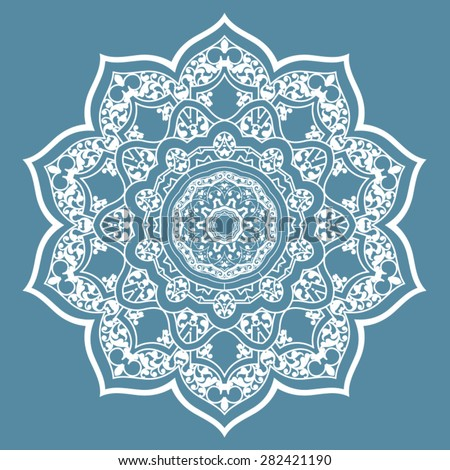 Vector Traditional Islamic Pattern Stock Vector 130910810 ...
