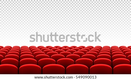 Rows of red cinema movie theater seats on transparent background vector illustration  sc 1 st  Shutterstock & Theater Seats Stock Images Royalty-Free Images u0026 Vectors ... islam-shia.org