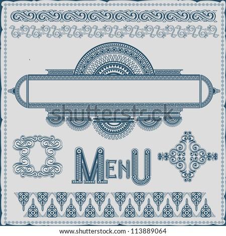 royal banner - stock vector