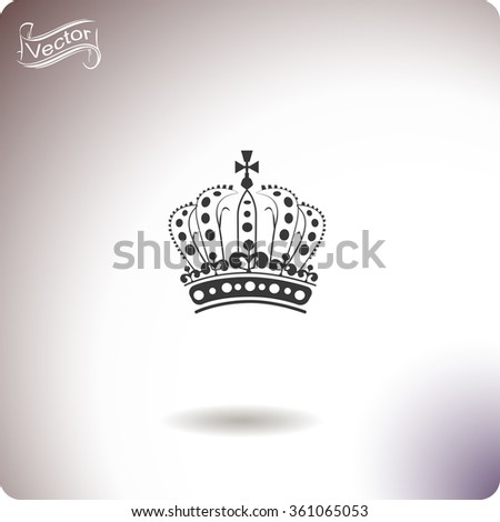 Royal Crown Doodle Hand Sketch style which is an emblem for royals, government