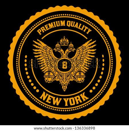 Royal emblem - stock vector
