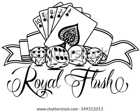 coloring pages of casino | Casino Coloring Tattoo Coloring Pages