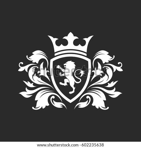 vector royal lion logo
