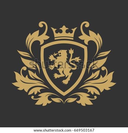 crest crown stock images royalty free images vectors shutterstock. Black Bedroom Furniture Sets. Home Design Ideas