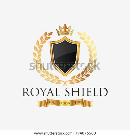Royal Professional Crest Logo Or Classic Template Suitable For Any Kind Of Business All