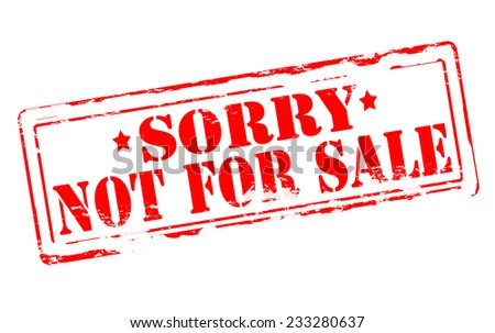 Not For Sale >> Not For Sale Stock Images Royalty Free Images Vectors