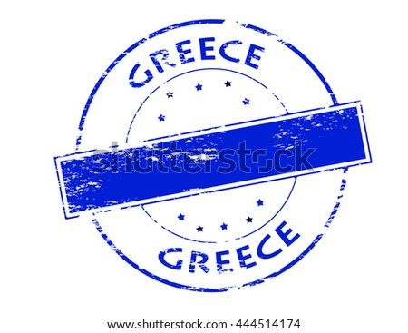 Grunge rubber stamp greek flag word stock vector 166298729 rubber stamp with word greece inside vector illustration ccuart Choice Image