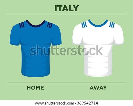 Rugby Six Nations Tournament Jerseys Italy