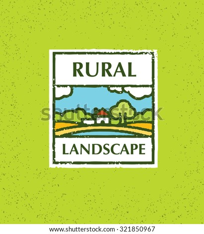 Tree farmland stock photos royalty free images for Rural landscape design