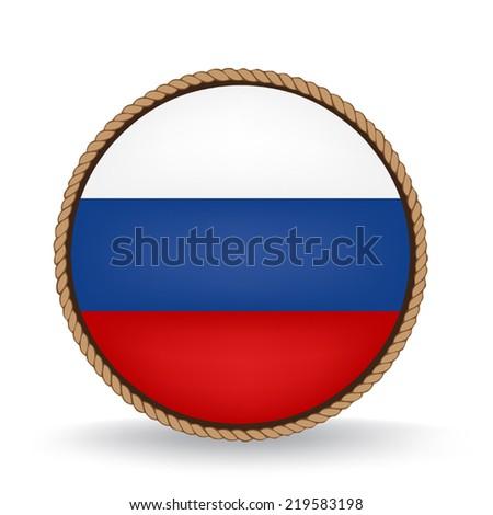 Russia Seal - stock vector