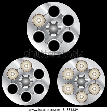 stock-vector-russian-roulette-black-8488