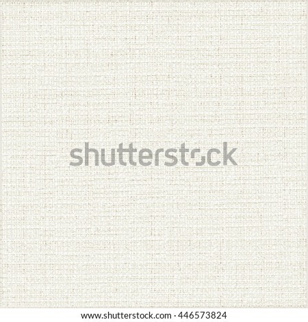 Rustic fabric texture. Canvas. Abstract vector.