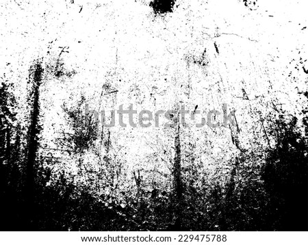 Rusty Metal Texture . Distress texture . Damage Texture . Grunge Texture . Scratch Texture . Corroded Steel Texture . Simply Place Texture over any Metallic Background  to Create Rustic Effect  - stock vector