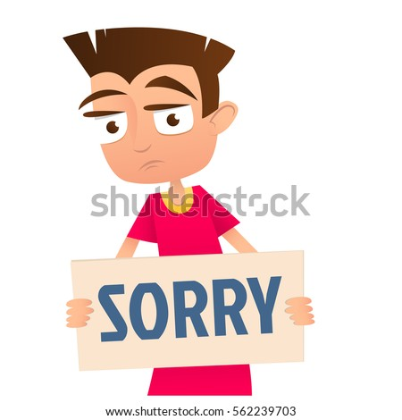 A Boy Saying Sorry Clipart | www.pixshark.com - Images ...