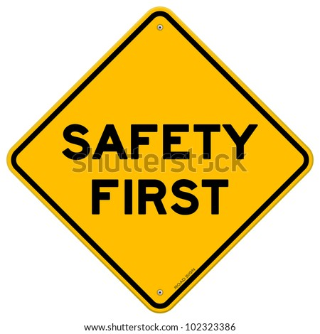 Safety First Symbol Stock Photo Photo Vector Illustration