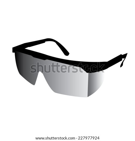 Safety Goggles Vector Safety Glasses.vector