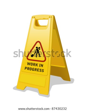 Safety Sign isolated