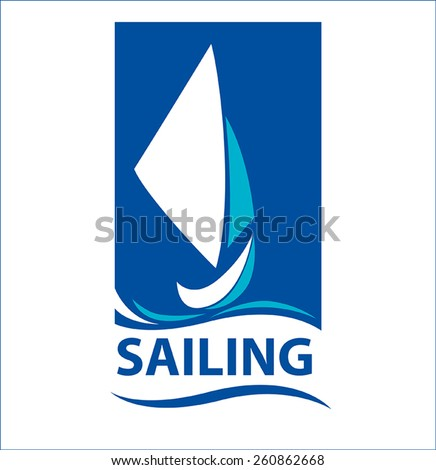 sailing ship - stock vector