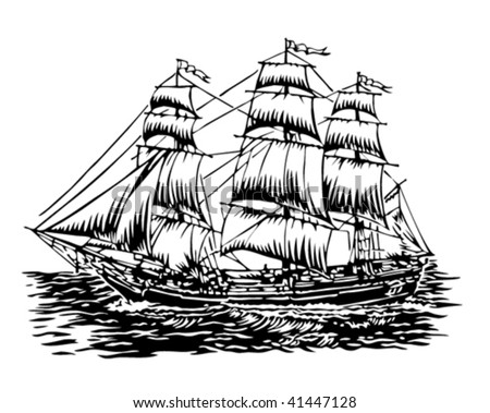 Clipper Ship Stock Images, Royalty-Free Images & Vectors ...