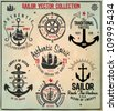 Sailor Design Collection - stock vector