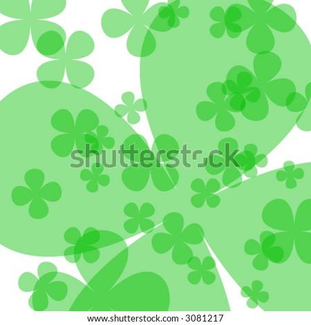 Saint Patrick's day background - stock vector