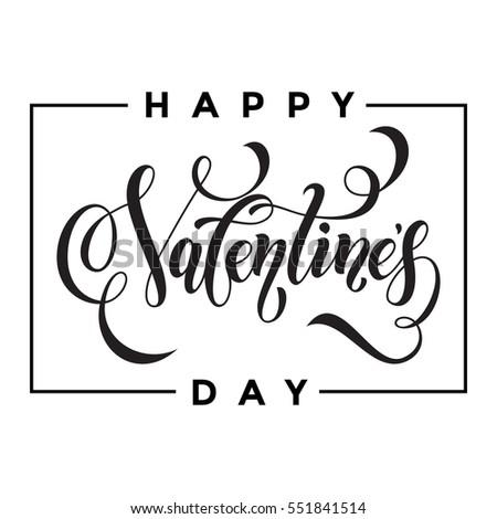Heart Confetti Valentines Petals Falling On Stock Vector