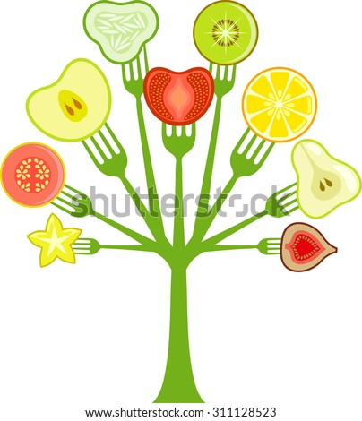 Fruit Salad Tree Stock Images, Royalty-Free Images ...