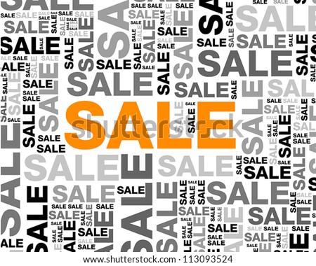 sale backgorund. sale backgorund concept - stock vector