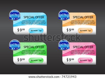 Sale banners- Vectors - stock vector