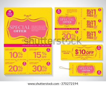 Discount sizing coupon