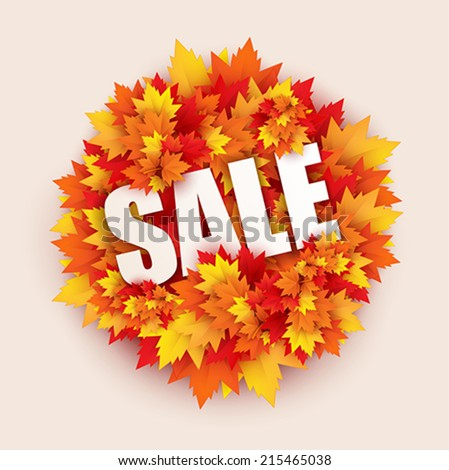 sale label shopping sticker - vector - stock vector