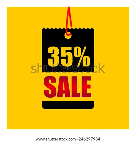 Sale percent - stock vector