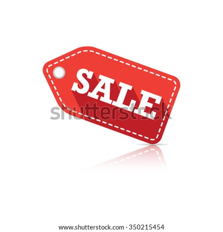 Sale Tag Label - stock vector