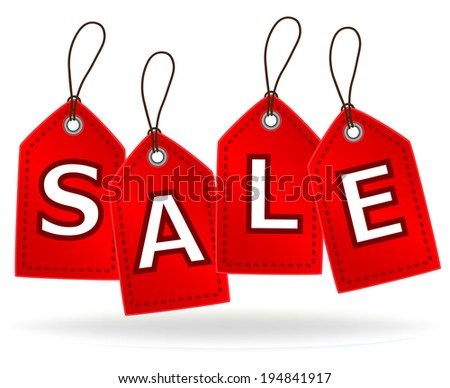 Sale Tags, vector