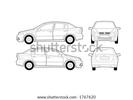 car diagram stock images  royalty